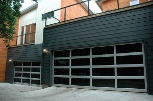 contemporary style glass garage door queen creek az